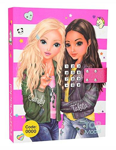 Depesche 10117 - Tagebuch mit Code und Sound, TOPModel, pink