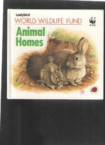 world-wildlife-fund-animal-homes-by-illus-colin-woolf-gillian-dorfman-1988-01-28