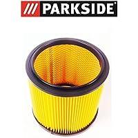 PARKSIDE LIDL filtre à plis-poussière avec filtre cartouche filtrante poussière pour aspirateur sec PNTS 23E 1250 1300 A1 B2 C3 1400 A1 B1, C1, D1, 1500 A1 B2 B3