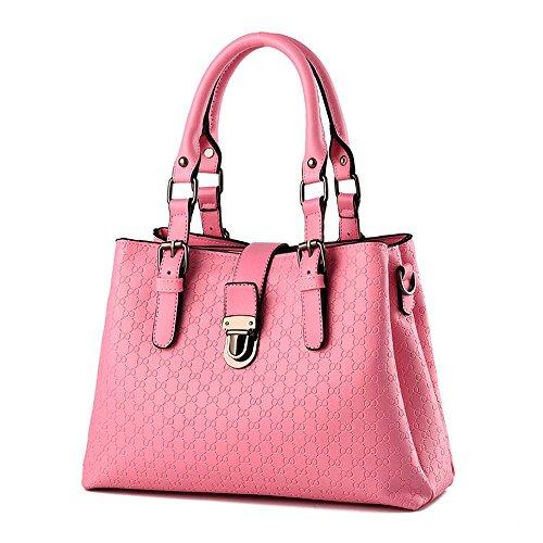 Koson-Man-Borsa Vintage da donna, borsetta per impugnatura, rosa (Rosa) - KMUKHB327