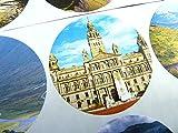12 Stück, Schottland, 51 mm/5.08 cm Rund Minilabel Etiketten/Sticker Zum Basteln, Dekorieren, Karten Und Umschläge