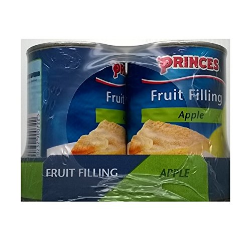 Princes Fruit de remplissage d'Apple 6 x 395gm