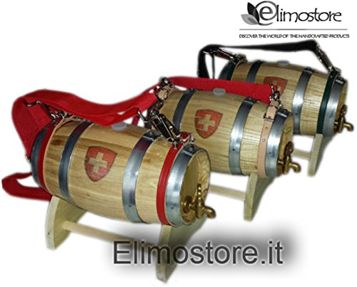 Messing Barrel Oak (Fass Wein San Bernardo 1Liter Wasserhahn Messing)