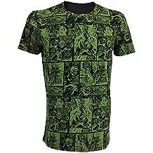 Hulk Marvel–Camiseta verde impresos en color verde verde large