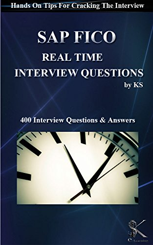 Sap fico real time interview questions hands on tips for cracking sap fico real time interview questions hands on tips for cracking the interview ebook ks amazon kindle store malvernweather Images