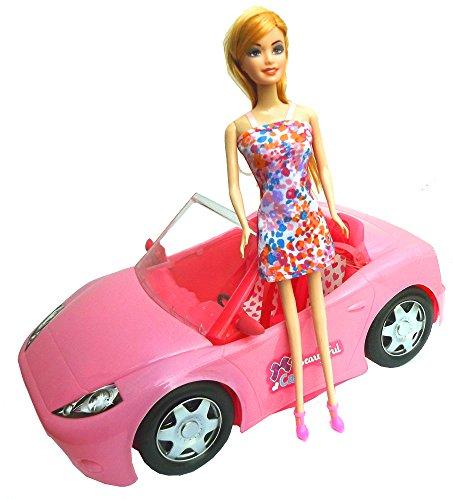 Brigamo 10681 – ✨ Puppen Auto Glam Cabrio mit Modepuppe ✨ - 6