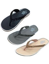 Amazon.es  ella la - Sandalias y chanclas   Zapatos para mujer ... 060436c9fc1a