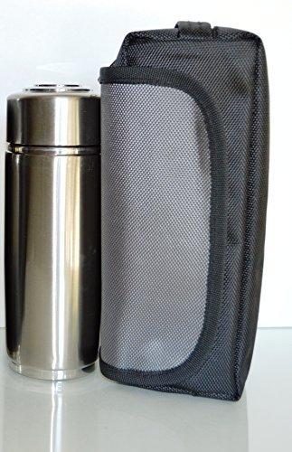 MTN Gearsmith Alkaline Energy Fläschchen Ionisator Wasser Flasche Ion PH Booster Cup w/Fall Silber Rosa Blau Schwarz Rot Silber Alkaline-fall