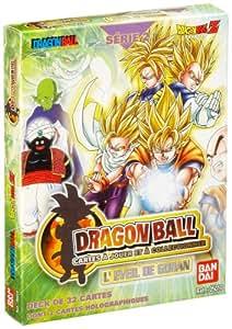 Bandai - Cartes jouer et collectionner - Dragonball Serie 2 - 05010 - Deck de 32 cartes dont 2 cartes holographiques - L'éveil de Gohan