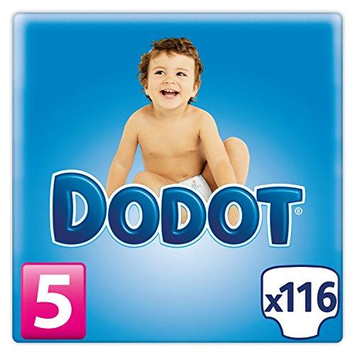 Dodot – Pañales para bebé, talla 5 – 116 pañales