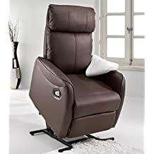 Adec - Sillon relax powerlift lift, medidas 72 x 75 x 95 cm, color chocolate