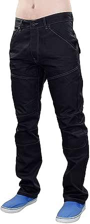 Crosshatch Mens Designer Woodel Denim Regular Fit Straight Leg Jeans Trousers