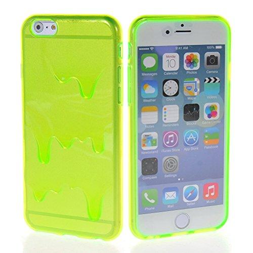 "MOONCASE iPhone 6 Case Sexy Motif Conception Gel TPU Silicone Housse Coque Etui Case Cover pour iPhone 6 (4.7"") Vert"