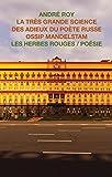 Telecharger Livres La tres grande science des adieux du poete russe Ossip Mandelstam (PDF,EPUB,MOBI) gratuits en Francaise