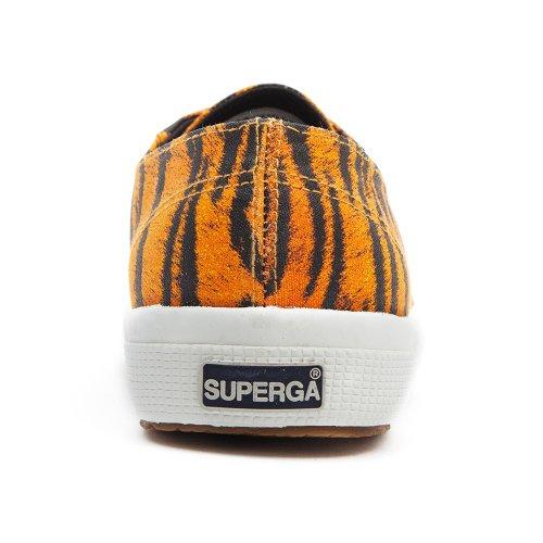 Superga S4s, Chaussures de Gymnastique Mixte Adulte Marron - Tigre