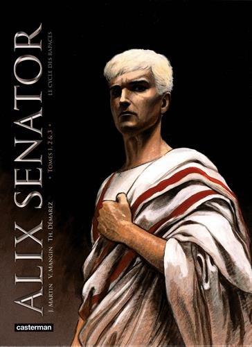 Alix senator, Le cycle des rapaces : Coffret en 3 volumes : Tome 1, Les aigles de sang ; Tome 2, Le dernier pharaon ; Tome 3, La conjuration des rapaces. Avec un ex-libris