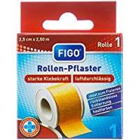 Figo Rollenpflaster breit 2.5cm x 2.5m, 2er Pack (2 x 1 Stück) preisvergleich bei billige-tabletten.eu