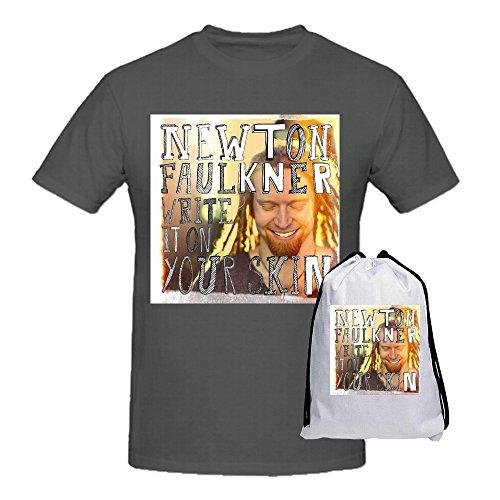 newton-faulkner-escribir-it-negro-camisetas-para-hombres