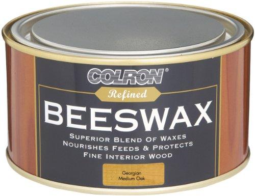 ronseal-crpbwgmo4-400g-medium-colron-refined-beeswax-paste-oak