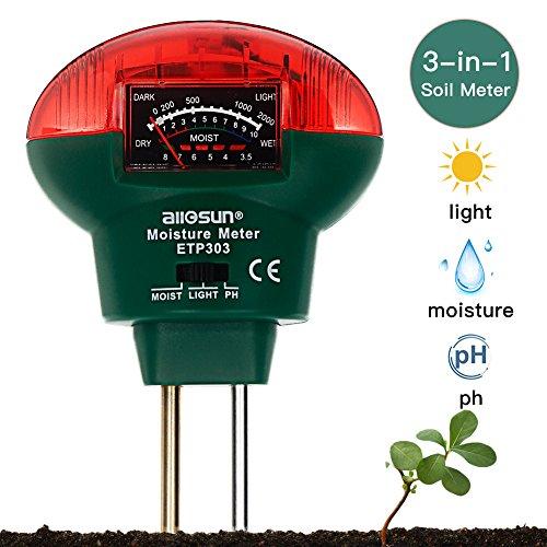 Gerade Boden Hygrometer 3 In 1 Ph Tester Boden Wasser Feuchtigkeit Licht Test Meter Für Garten Pflanze Blume Messung Und Analyse Instrumente Werkzeuge