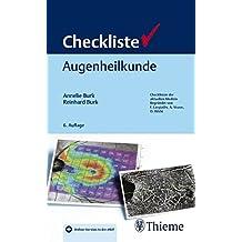 Checkliste Augenheilkunde (Checklisten Medizin)