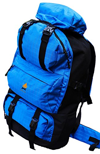 Bonfire Adventure 50 Ltr Blue Rucksack