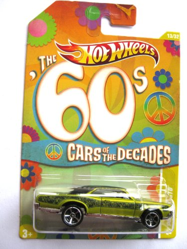 Hot Wheels Pontiac GTO 1967 `60s Cars of the Decades 1:64 (Wheels Hot Gto)