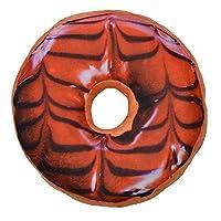 Colourful Creative 3D Plush Donut Doughnut Throw Pillow Sofa Car Office Cushion (Donut 12)