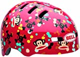 Bell Kinder Fahrradhelm Fraction, Red Paul Frank Paint Ball, S, 210071028