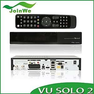 MU Sunray Vu SOLO2 double tuner décodeur vu solo 2 vu solo récepteur Linux 1300 MHz CPU2 tuner DVB-S2 STB récepteur de télévision numérique par satellite