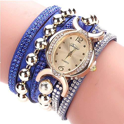 Fittingran orologio orologi da donna donna bracciale orologi da donna orologi da donna orologi economici orologi da donna orologi da donna orologi da donna (blu)