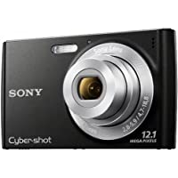 Sony DSCW510 Cyber-shot Digital Still Camera - Black (12.1MP, 4x Optical Zoom) 2.7 inch LCD