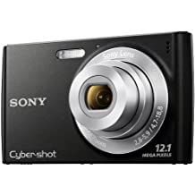 "Sony W510 - Cámara digital (12.1 MP, Compacto, 25.4/58.4 mm (1/2.3""), 4x, 8x, 4.7 - 18.8 mm) Negro"