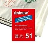 Megapack - 20 Staubsaugerbeutel geeignet für Kärcher CW 50 / CW50 Staubsauger - dustwave® Markenstaubbeutel - Made in Germany
