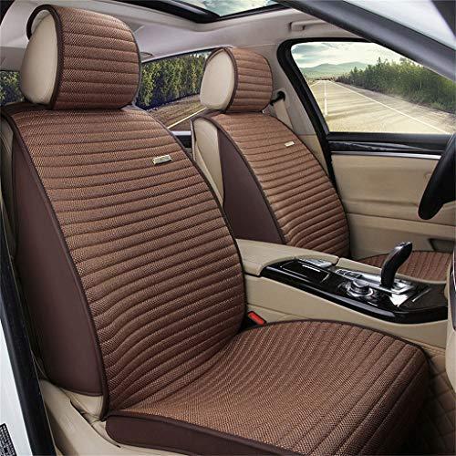 (LLYQCZD Autositzkissen Umweltschutz Stoff Rutschfest All-Inclusive Vier Jahreszeiten Universal FüNf Sitze Universal)
