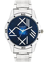 Evelyn Casual Analog Blue Dial Men's And Boys Analog Watch-Eve-677