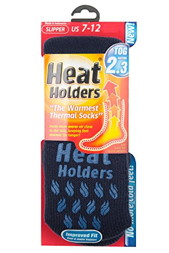 Heat HoldersHerren Socken, Blau & Marine, 6-11 uk (Böden Thermische Mens)