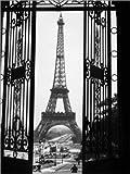 Poster 60 x 80 cm: Eiffelturm um 1920 von Panoramic Images