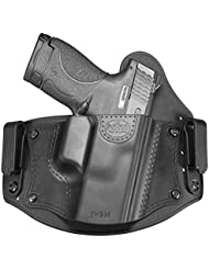 New Fobus iwbm CC (Combat Cut) Right Hand IWB Inside Waistband Passive Retention Holster Fits Glock–17,19,26,27,28,33,43/Beretta PX4Compact/Sig Sauer P320, P228/Walther PPQ, P99/Smith & Wesson M & P Shield, M & P Compact/FN–FNS, FNX/Ruger SR9, SR40, SR45, LC9/Springfield XD Sub-Compact/Taurus 709slim, PT111G2