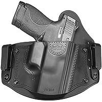 Fobus nuevo iwbm CC oculto Report IWB interior de la cinturón Funda Universal Holster para Glock–17,19,26,27,28,33,43/Beretta PX4Compact/Sig Sauer P320, P228/Walther PPQ, P99/Smith & Wesson M & P Shield, M & P Compact/FN–FNS, FNX/Ruger SR9, SR40, SR45, LC9/Springfield XD Sub-Compact/Taurus 709slim, PT111G2
