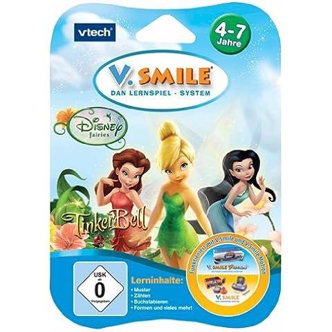VTech V.Smile Motion Lernspiel - Juguete educativo Tinkerbell (80-084324) (versión en alemán)