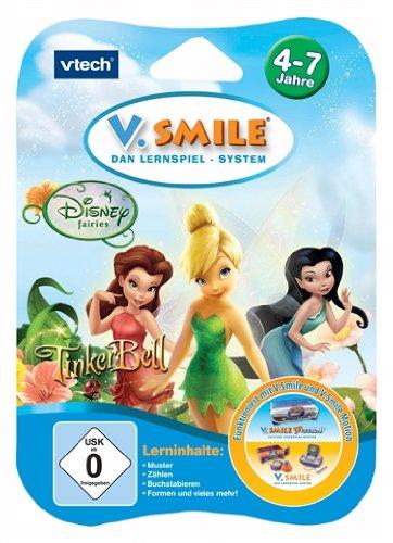 Preisvergleich Produktbild VTech 80-084324 - V.Smile Motion Lernspiel Tinker Bell