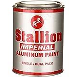 Imperial Aluminium Paint (Silver, 500 ml)