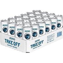 Take Off Zero Zero Energy drink, 24er Pack (24 x 330 g)