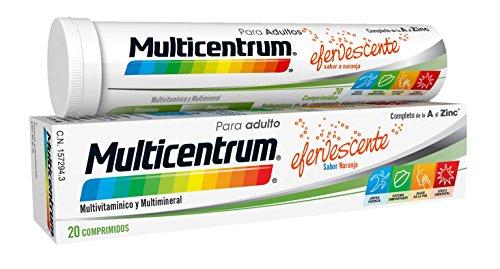 Multicentrum Adulto Complemento Alimenticio con 13 Vitaminas, 11 Minerales y Único Con...