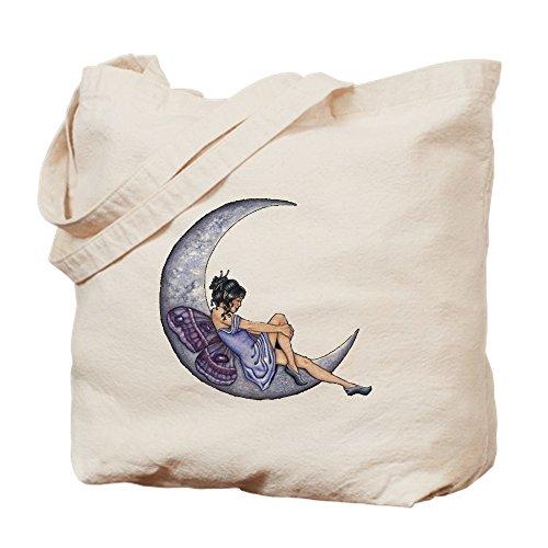 Mond Altes Shirt (CafePress–Einer Fee Mond–Leinwand Natur Tasche, Reinigungstuch Einkaufstasche Tote S khaki)