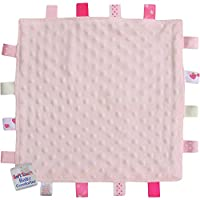 Baby Super Soft Deluxe Comforter Blanket with Satin Ribbons