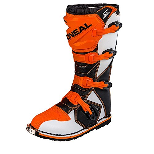 O´Neal Motocross MX Stiefel Rider Boot orange Gr. 43 (10)