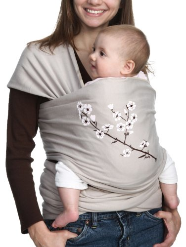 MOBY WRAP - Almond Blossom Tragetuch