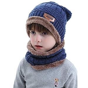 Aibrou Cappello Uomo Invernali【Guanti Possono Essere Utilizzati su Schermi Mobili e Tablet】 3 in 1 Cappello Sciarpa… 1 spesavip